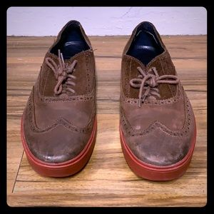Cole Haan Men's Brown Leather Red Sole Shoes